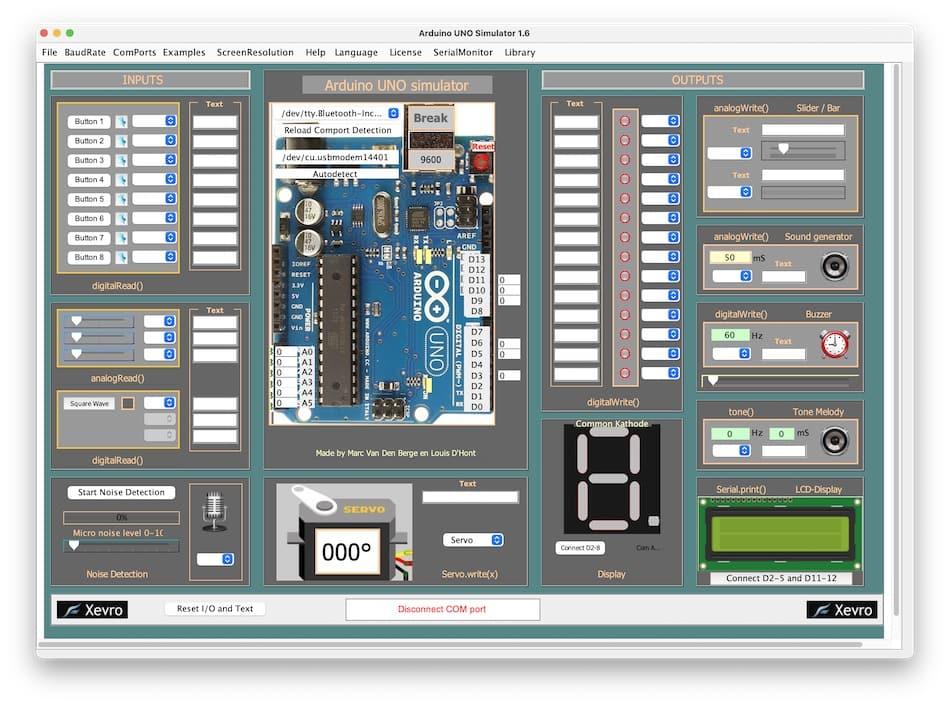 Arduino Simulator mac