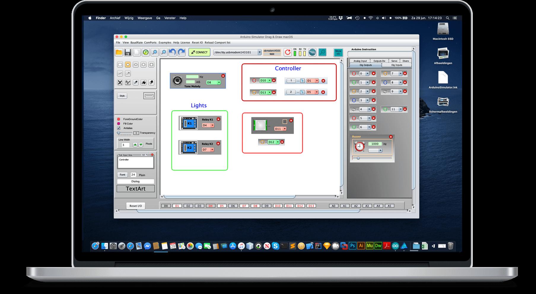Arduino Simulator free